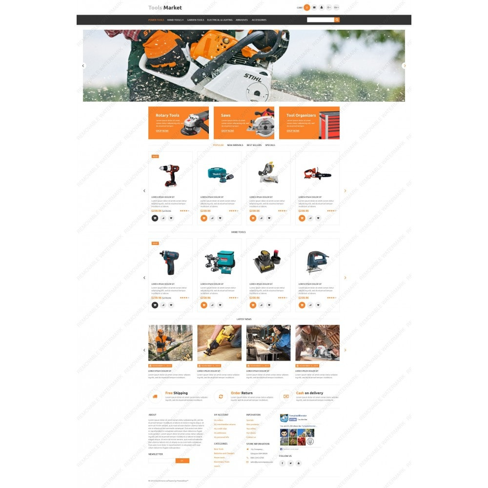 theme - Heim & Garten - Tools Market - 3