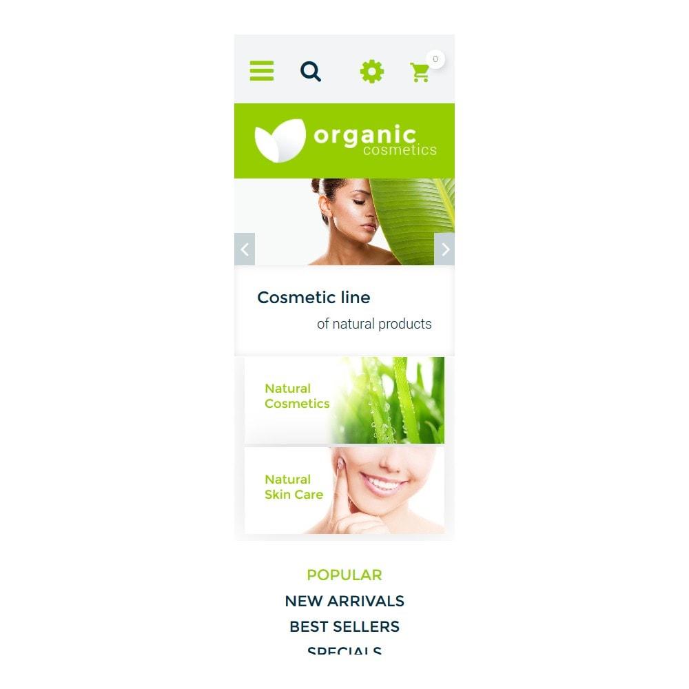 theme - Мода и обувь - Organic cosmetics - responsive - 6