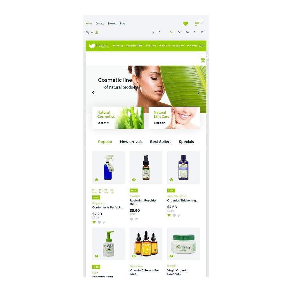 theme - Moda y Calzado - Organic cosmetics - responsive - 8