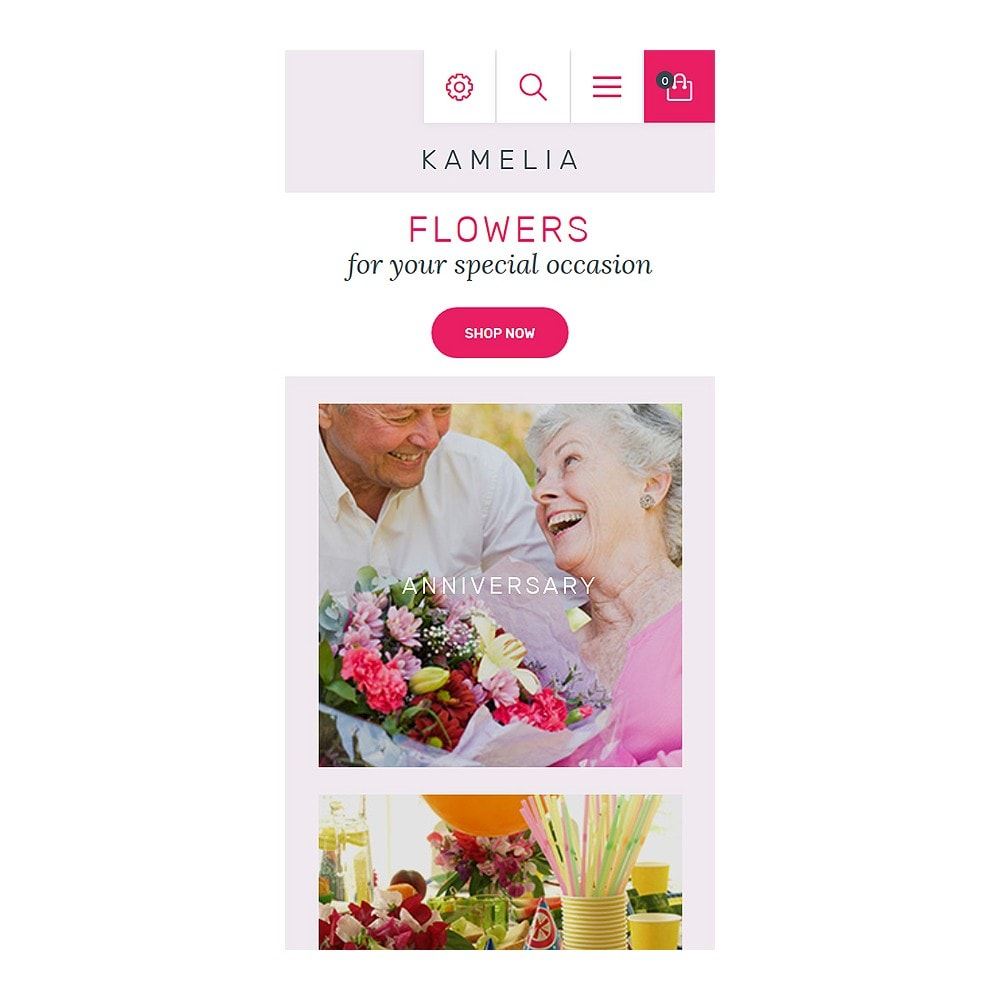 theme - Gifts, Flowers & Celebrations - Kamelia - 8