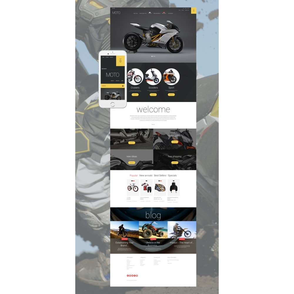 theme - Automotive & Cars - Moto - 2