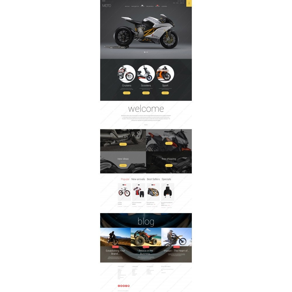 theme - Automotive & Cars - Moto - 5