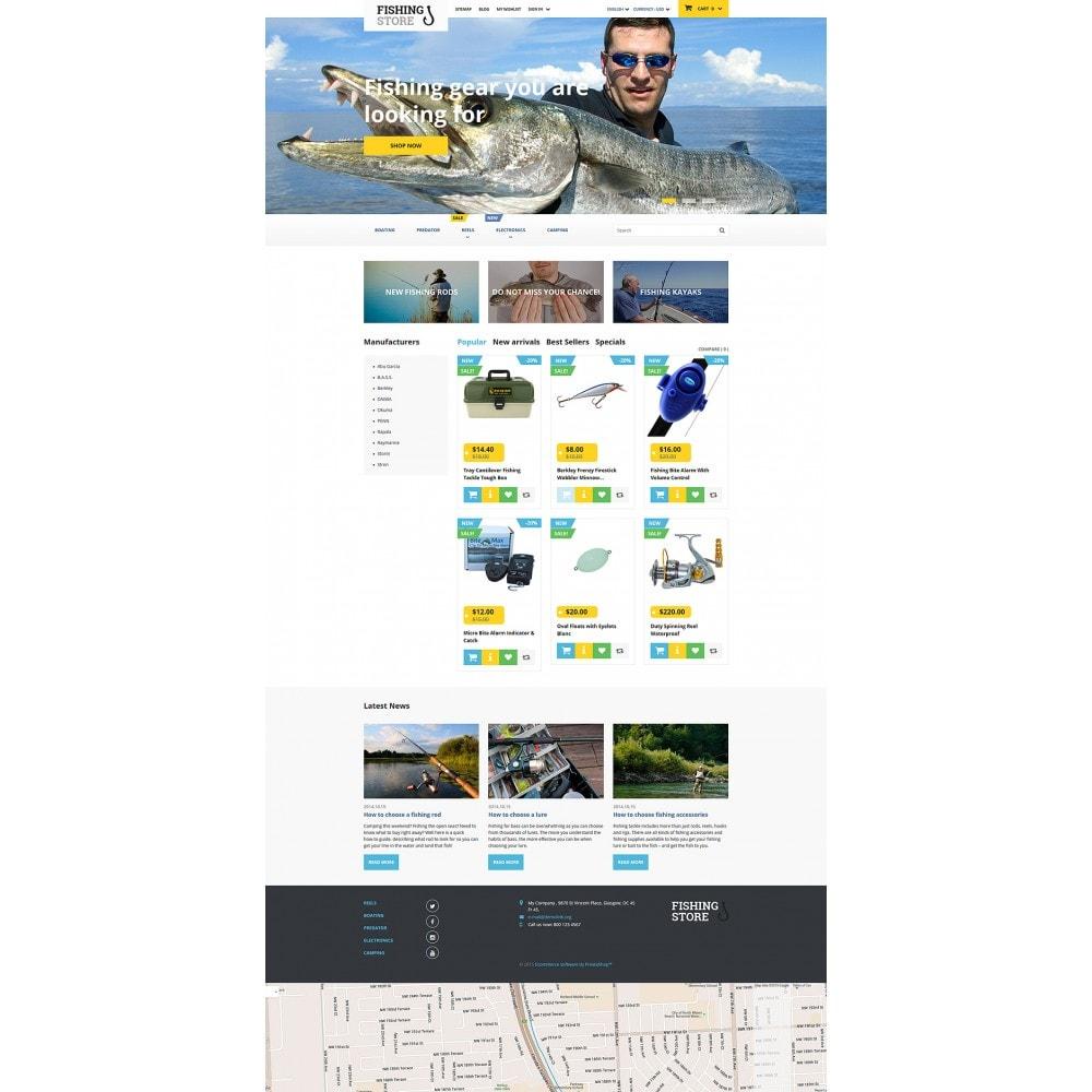 theme - Спорт и Путешествия - Fishing Store - 2