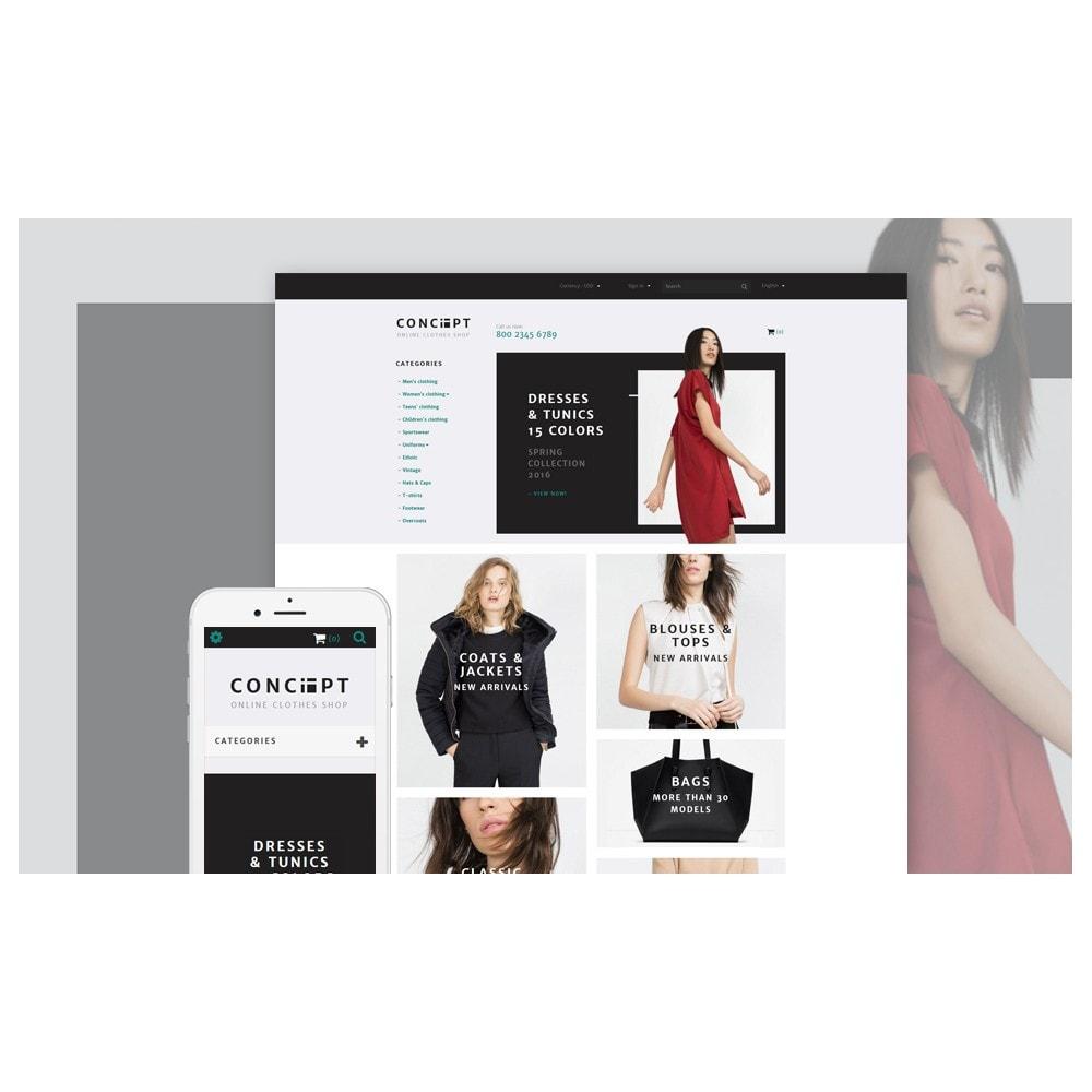 theme - Mode & Schuhe - Concept - Apparel Template - 2