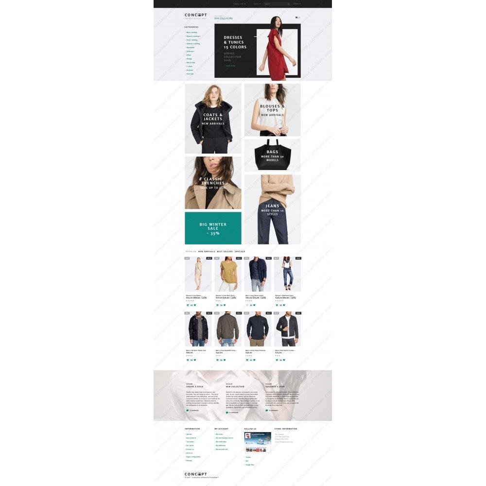 theme - Mode & Schuhe - Concept - Apparel Template - 3