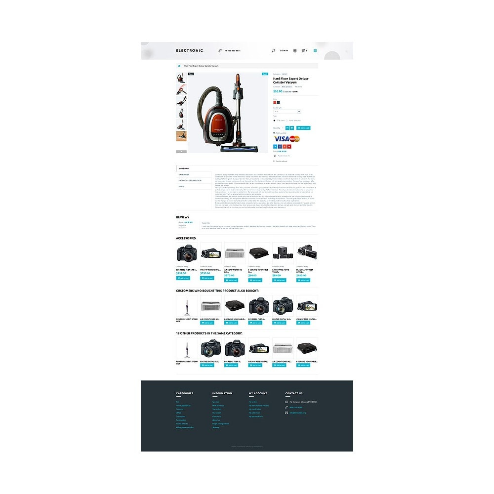 theme - Elektronik & High Tech - White Electronics Store PrestaShop Theme by ArtVertex - 6