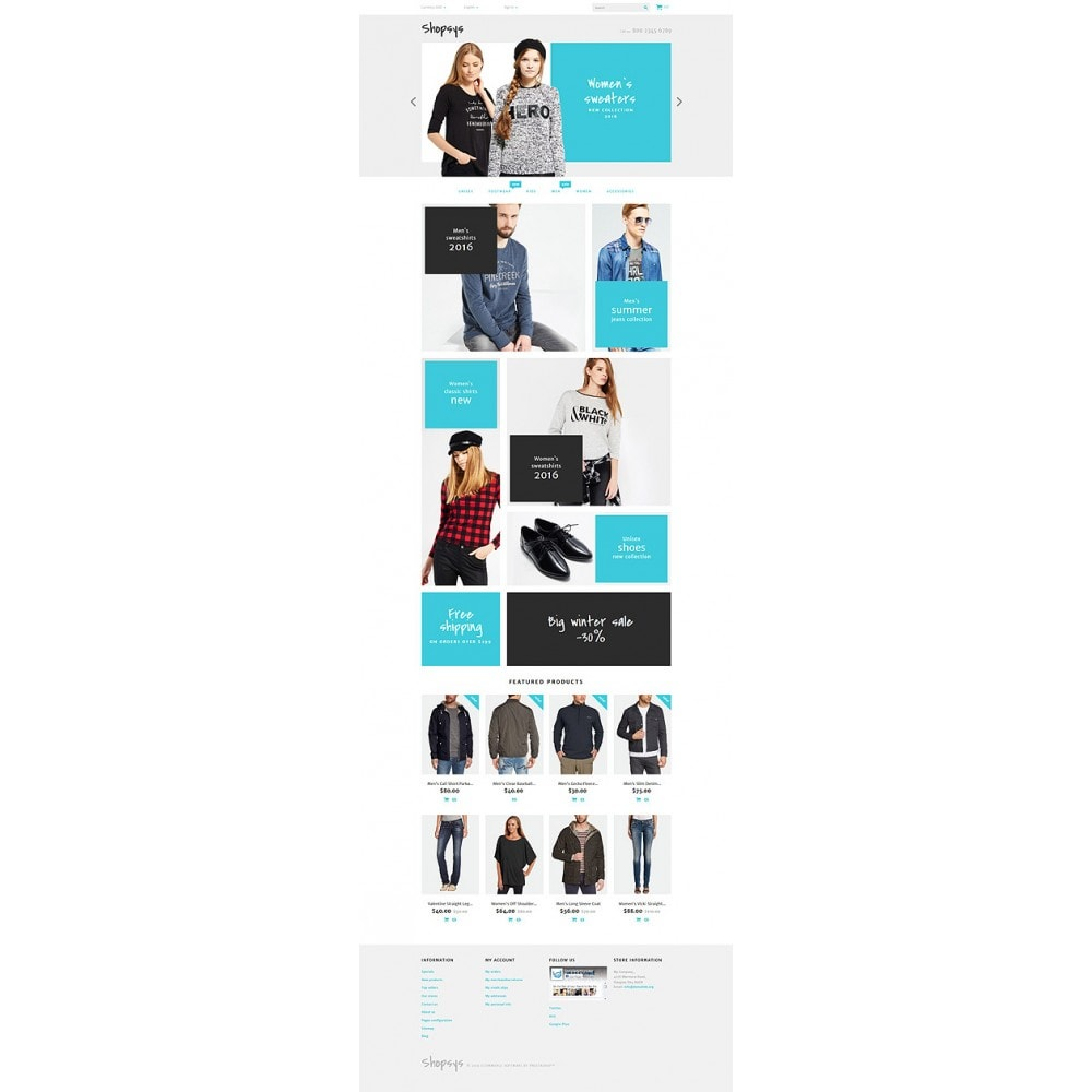theme - Мода и обувь - Shopsys - Trendy Clothes - 10