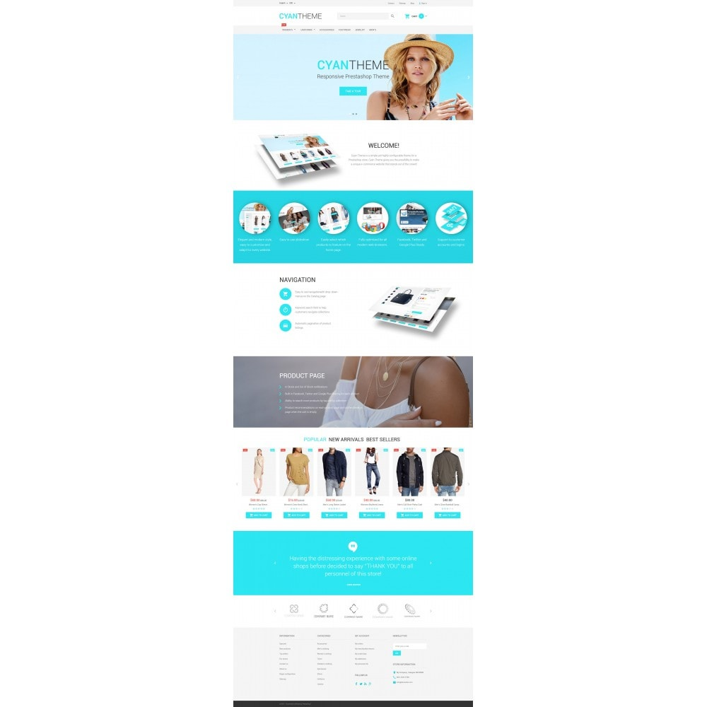 theme - Moda & Calzature - CyanTheme - 4