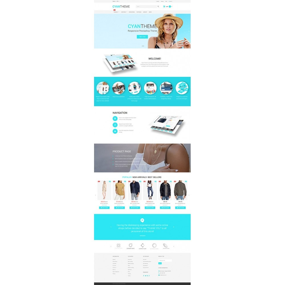 theme - Fashion & Shoes - CyanTheme - Fashion Store - 10