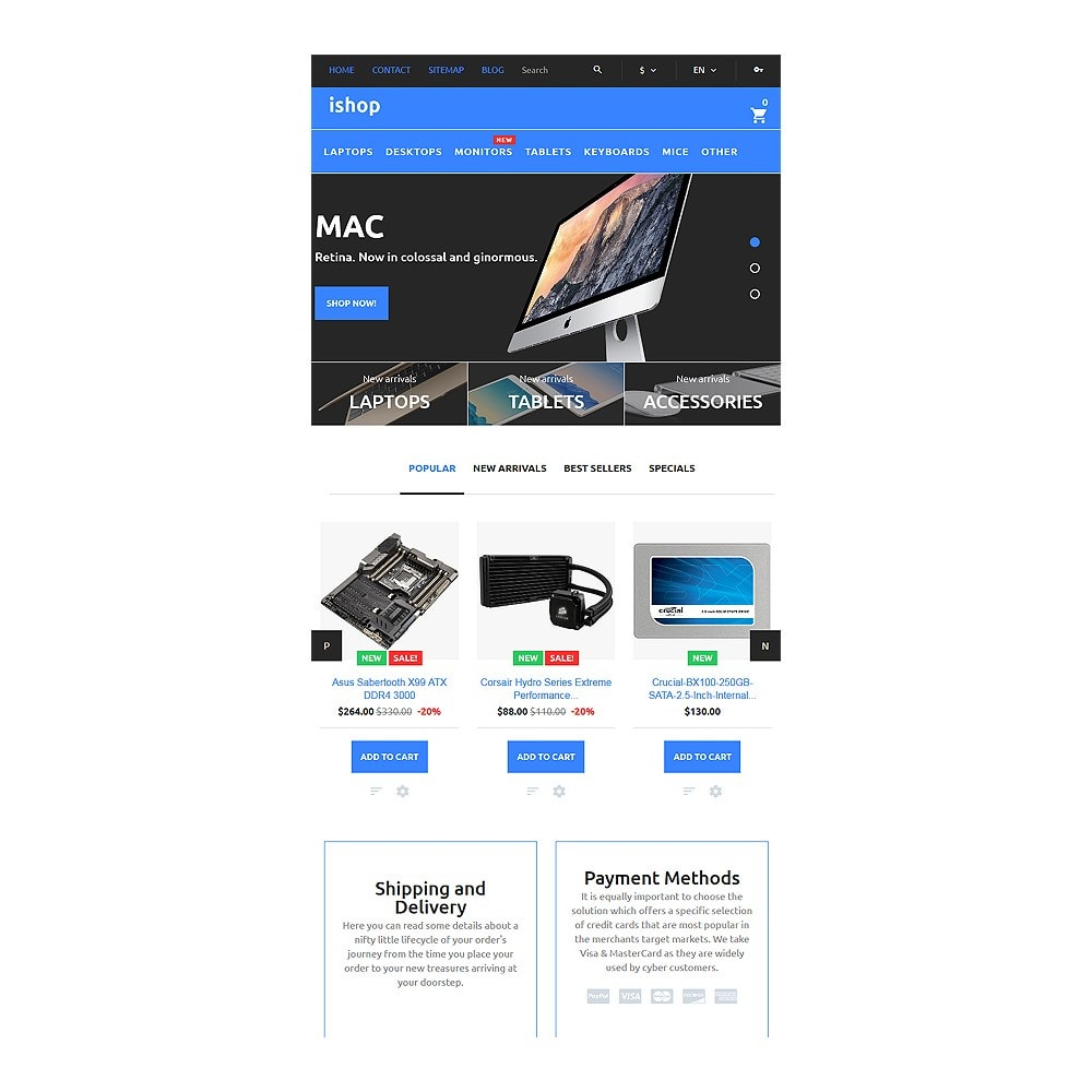 theme - Electronics & Computers - iShop - Computer Store - 8