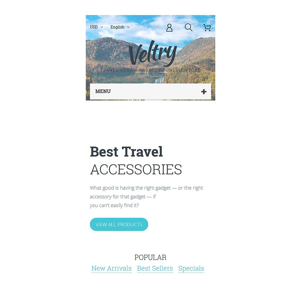 theme - Deportes, Actividades y Viajes - Veltry - Travel Store - 8
