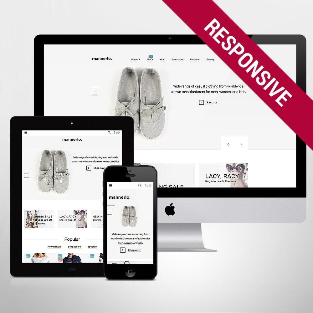 theme - Mode & Schuhe - Mannerlo - Apparel Responsive - 1