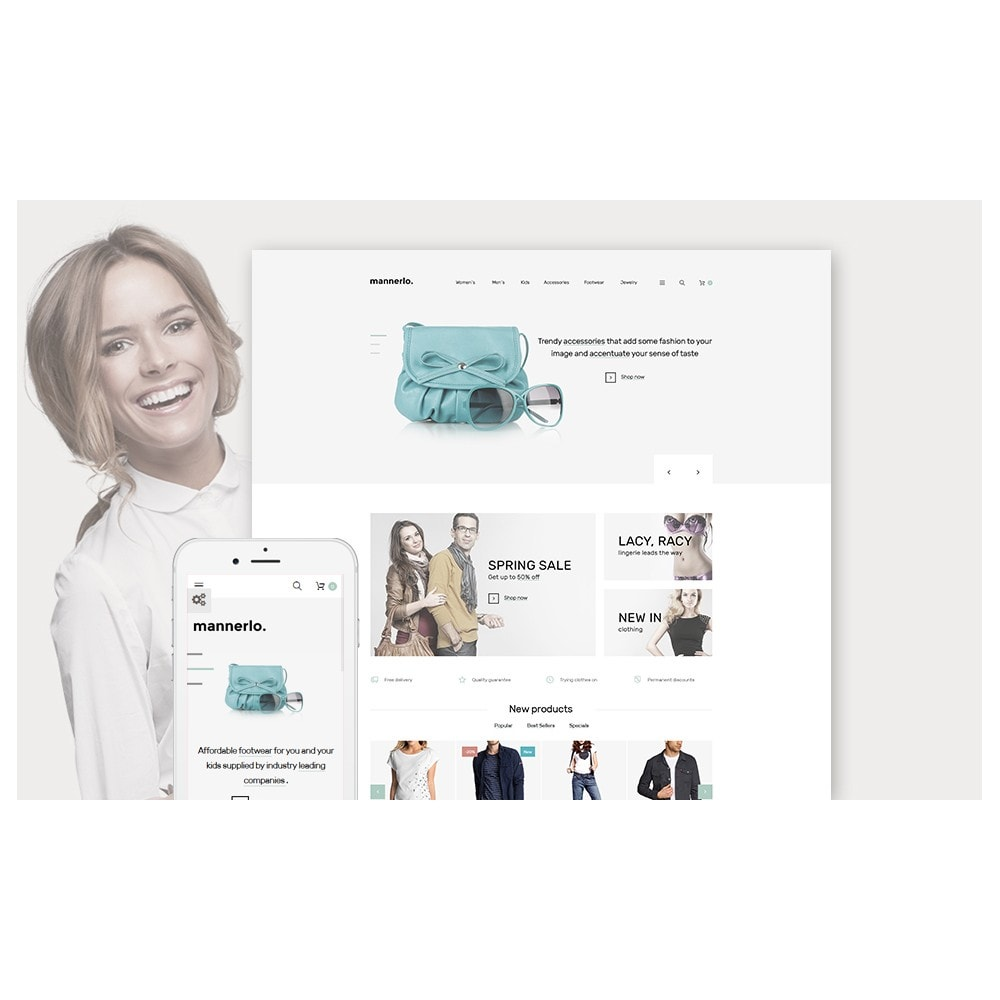 theme - Mode & Schuhe - Mannerlo - Apparel Responsive - 2