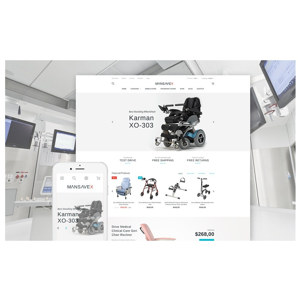 theme - Saúde & Beleza - Mansavex - Medical Equipment - 2