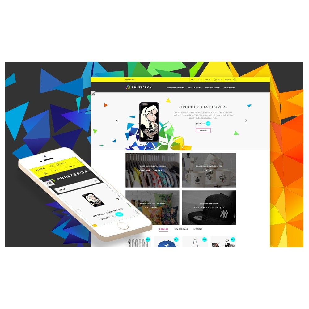 theme - Art & Culture - Printerox Design Responsive - 2