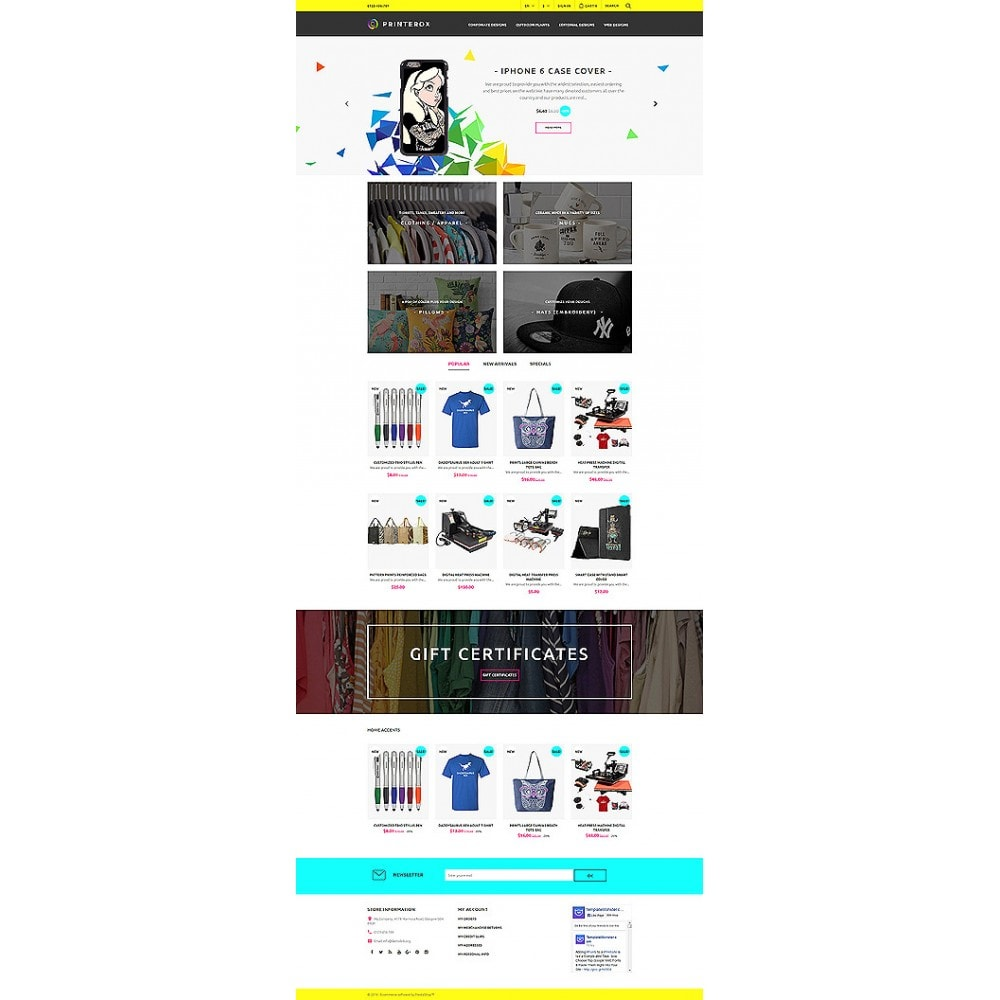 theme - Kultura & Sztuka - Printerox Design Responsive - 10
