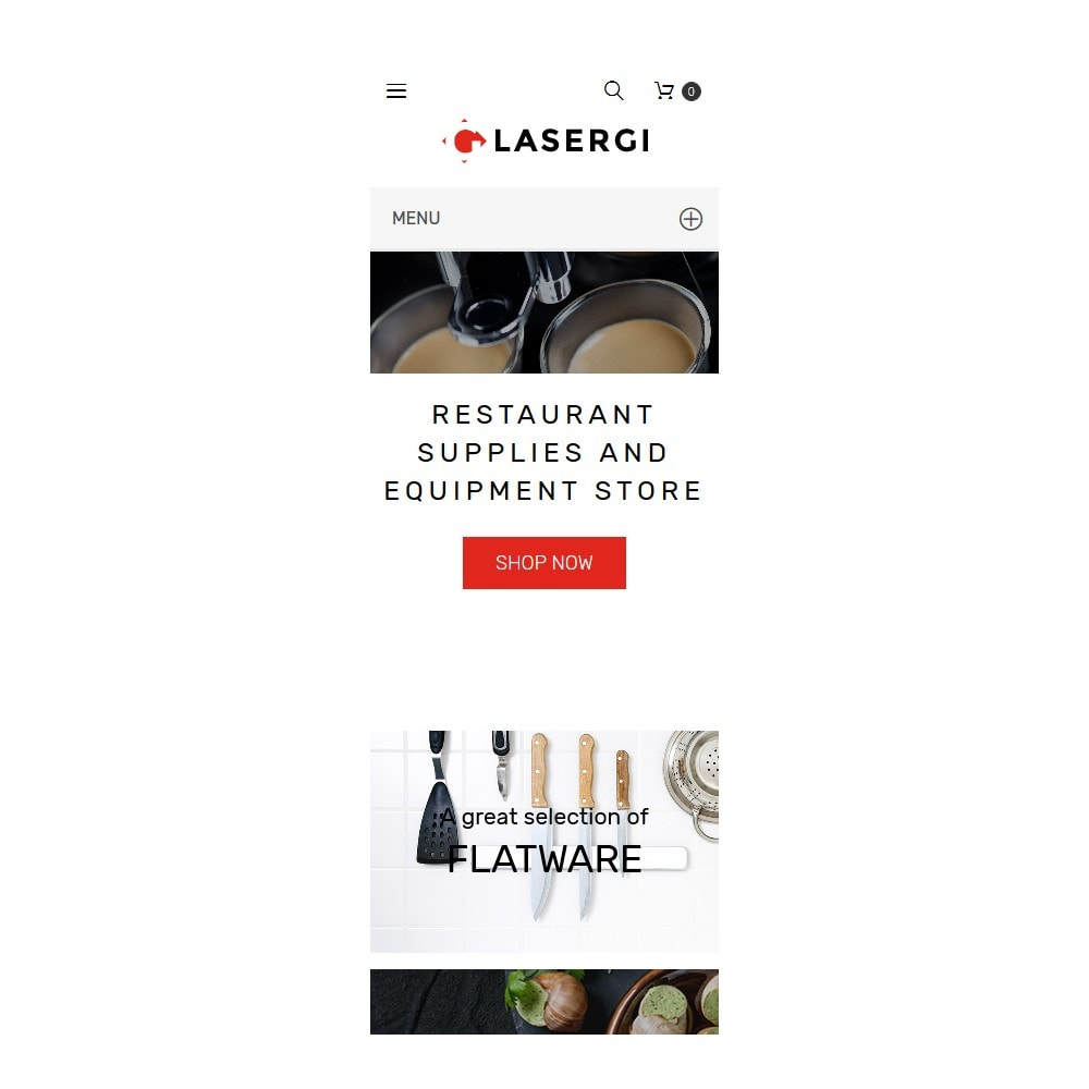 theme - Food & Restaurant - Glasergi - Cookware & Appliances - 9