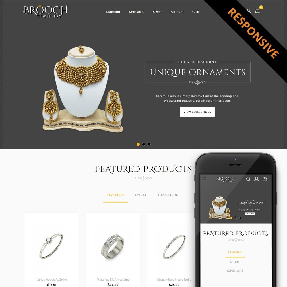 theme - Bellezza & Gioielli - Jewellary Store - 1