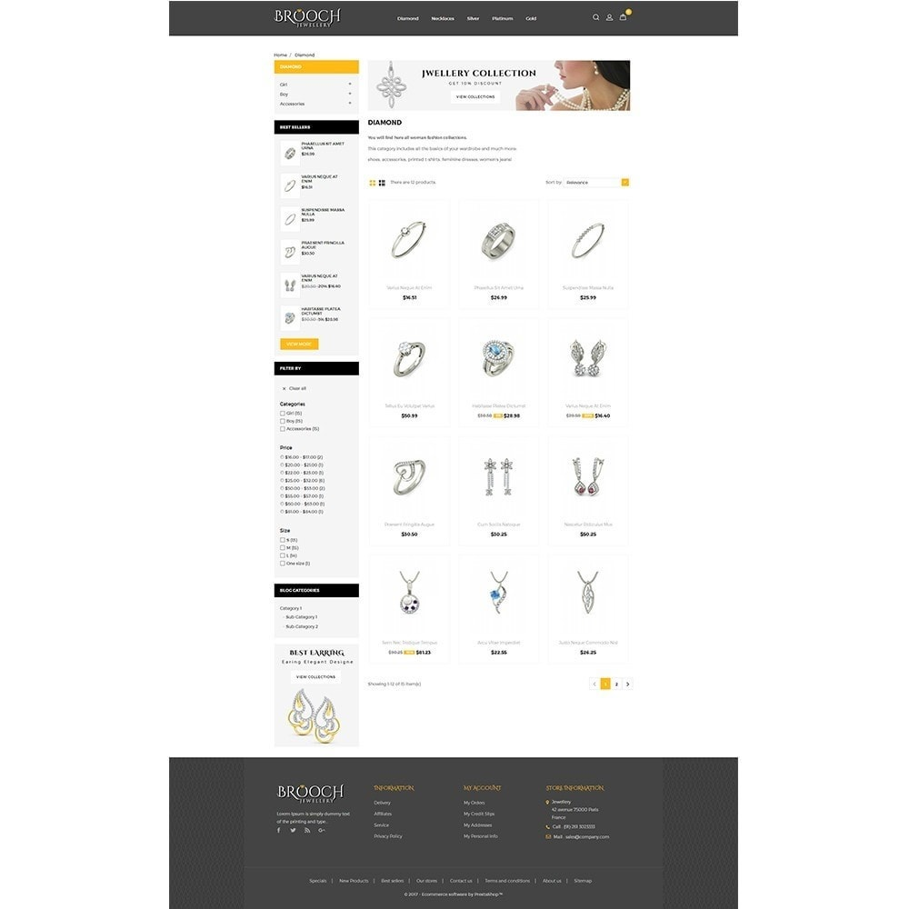 theme - Jewelry & Accessories - Jewellary Store - 3