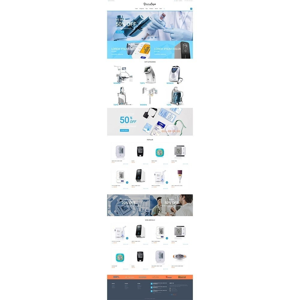 theme - Gezondheid & Schoonheid - UP Medical Equipment Store - 2
