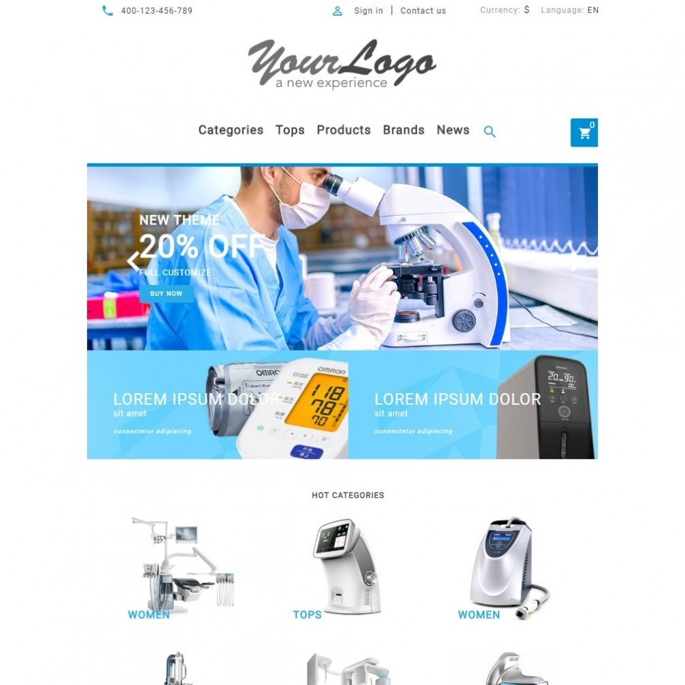 theme - Gezondheid & Schoonheid - UP Medical Equipment Store - 8