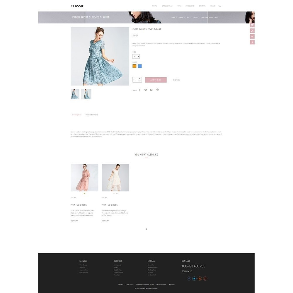theme - Мода и обувь - UP Fashion and Elegance Store - 4