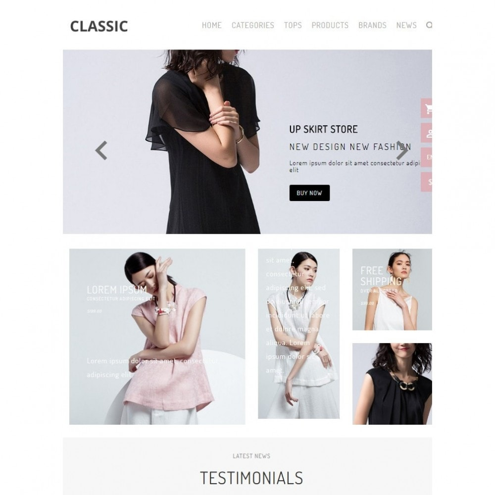 theme - Мода и обувь - UP Fashion and Elegance Store - 6