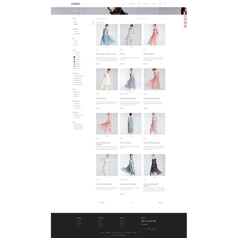 theme - Мода и обувь - UP Fashion and Elegance Store - 8