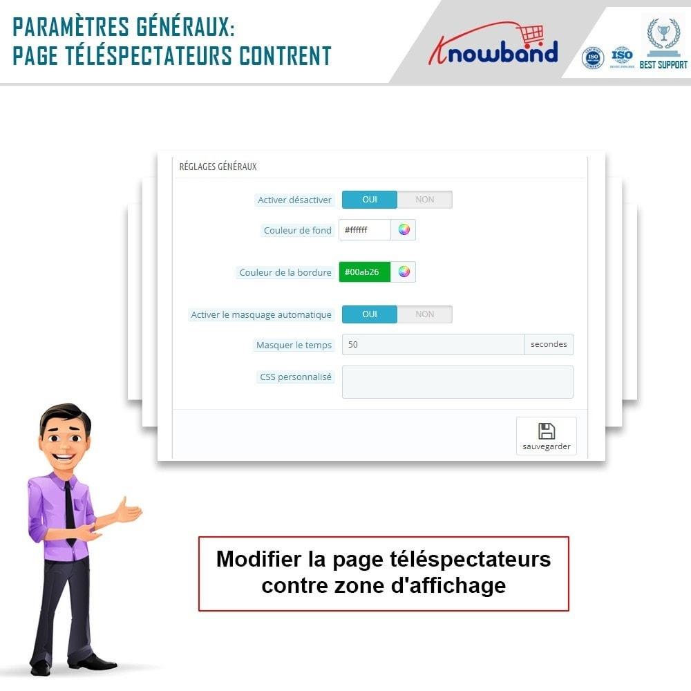 module - Information supplémentaire & Onglet produit - Knowband - Compteur de Vues de Page - 3