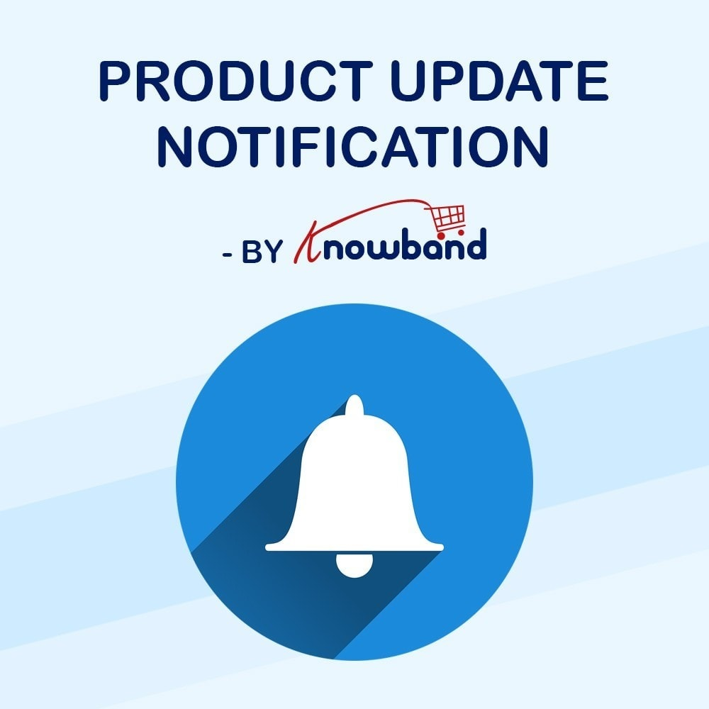 module - Notifications & Automatic Emails - Knowband - Product Update Notification - 1