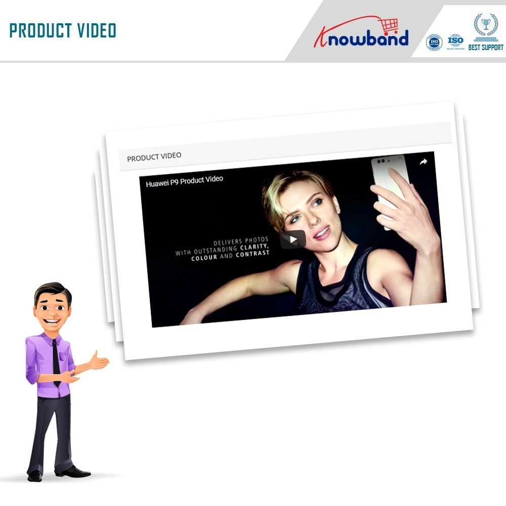 module - Video's & Muziek - Knowband - Product Videos (Youtube,Vimeo & Dailymotion) - 4
