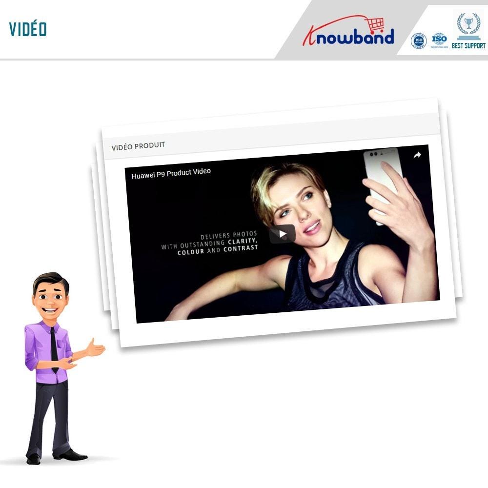 module - Vidéo & Musique - Knowband - Vidéo Produit - 4