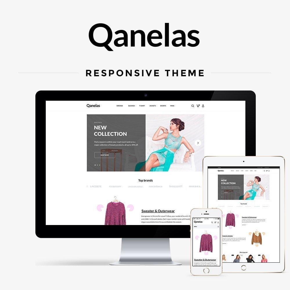 theme - Moda & Calçados - Qanelas Fashion Store - 1