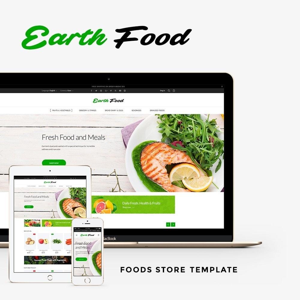 theme - Żywność & Restauracje - Earth Food - 1