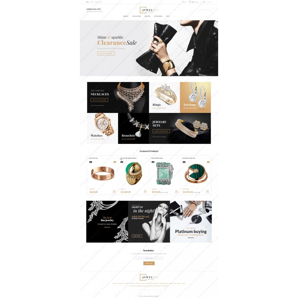 theme - Mode & Schoenen - Jewelrix - Jewelry Store - 3