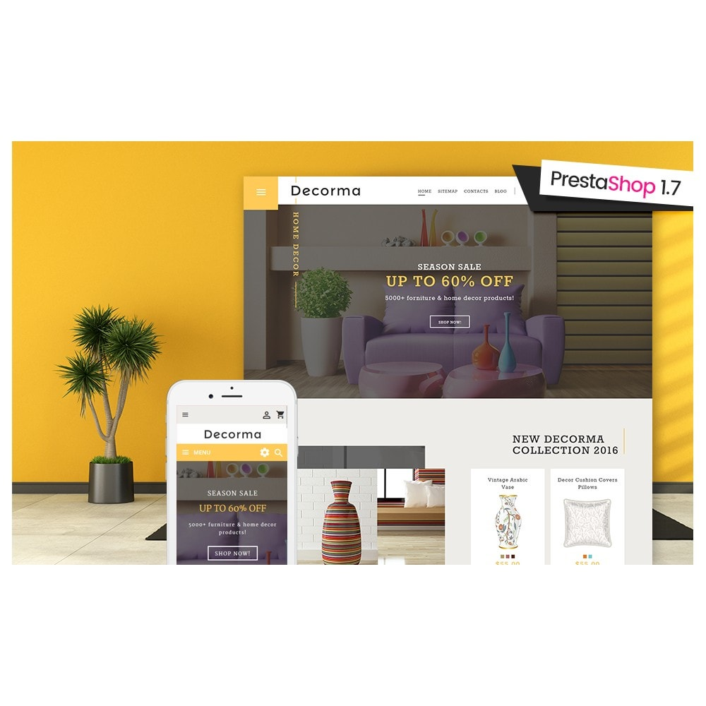 theme - Kultura & Sztuka - Decorma - Furniture Responsive - 2