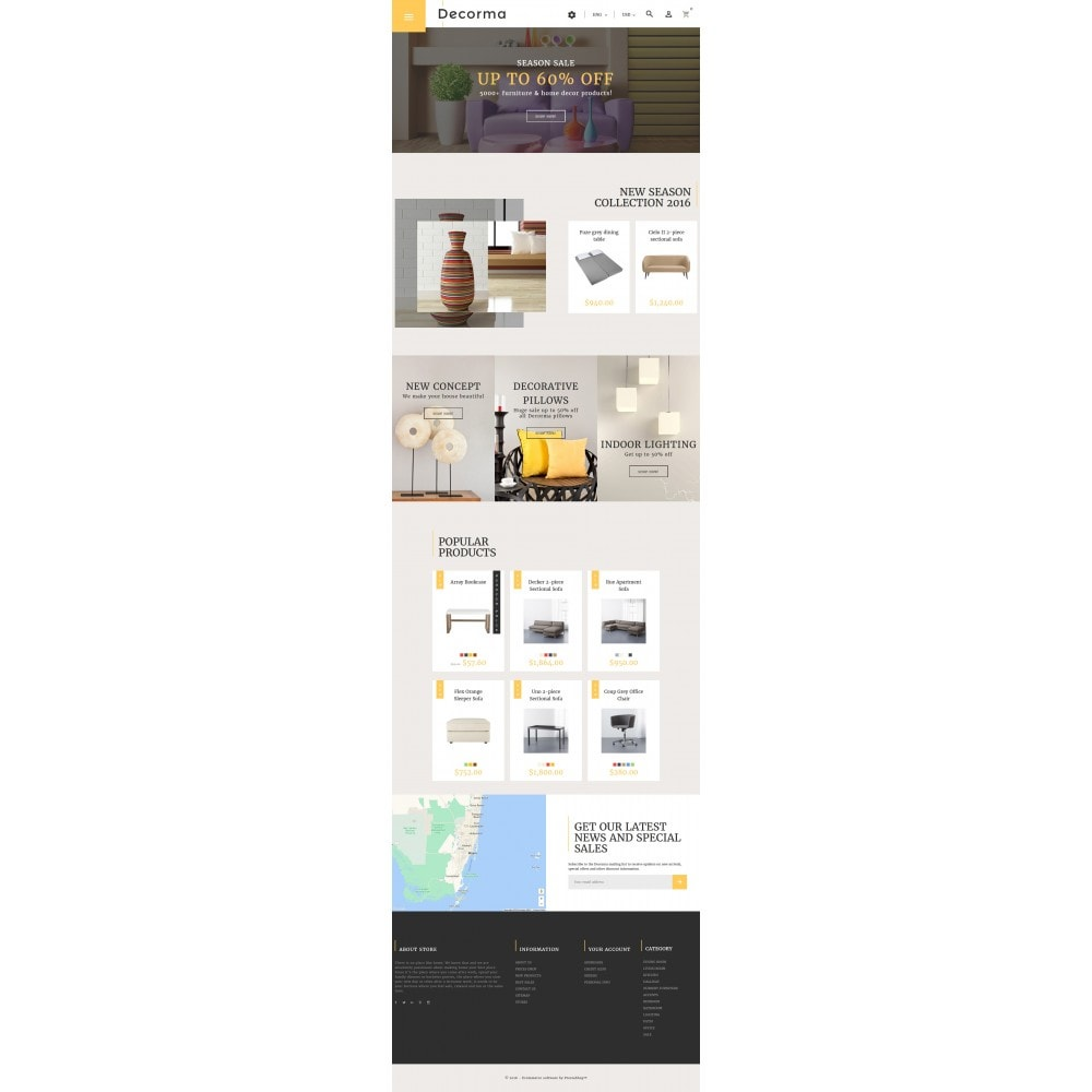 theme - Kultura & Sztuka - Decorma - Furniture Responsive - 4