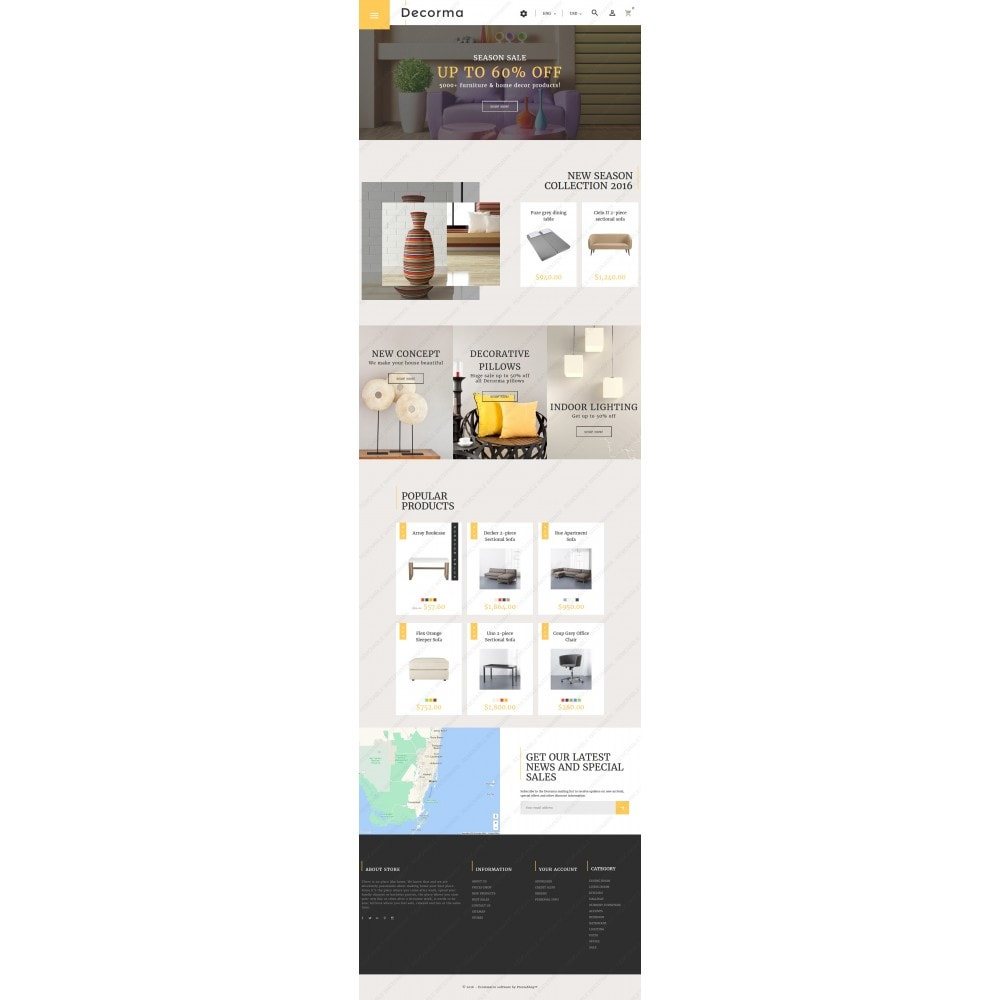 theme - Kultura & Sztuka - Decorma - Furniture Responsive - 5