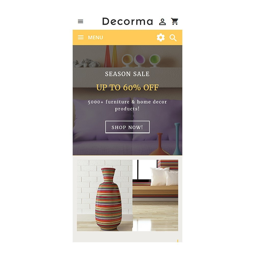 theme - Kultura & Sztuka - Decorma - Furniture Responsive - 9