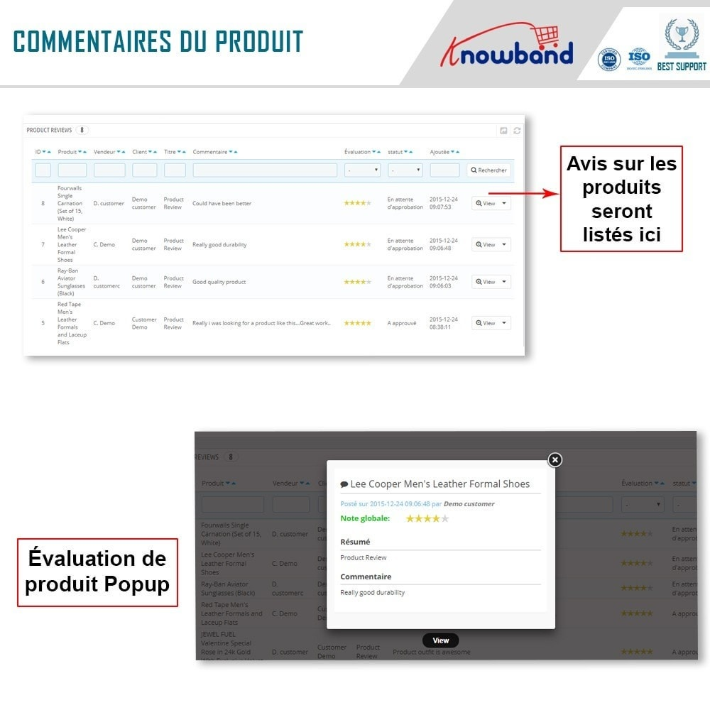 module - Création de Marketplace - Knowband - Multi Vendor Marketplace - 18