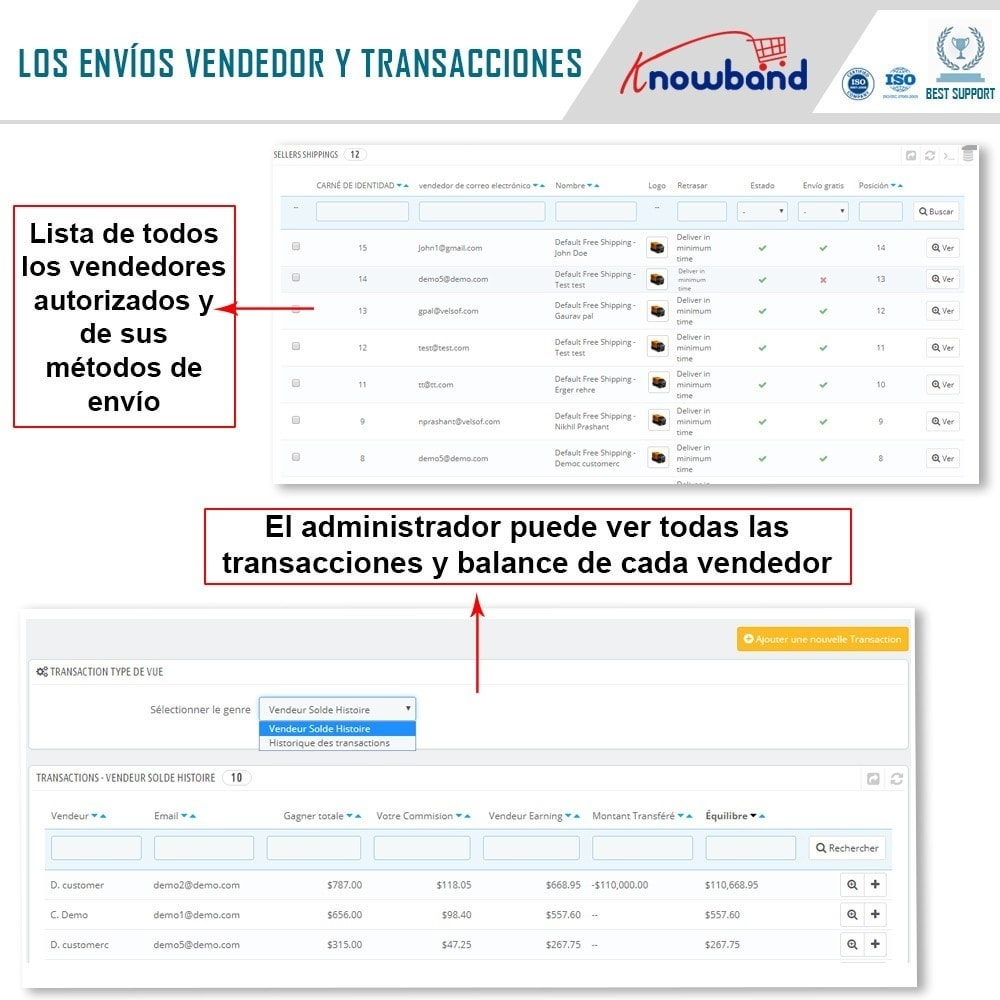 module - Creación de Marketplace - Knowband - Marketplace - 20