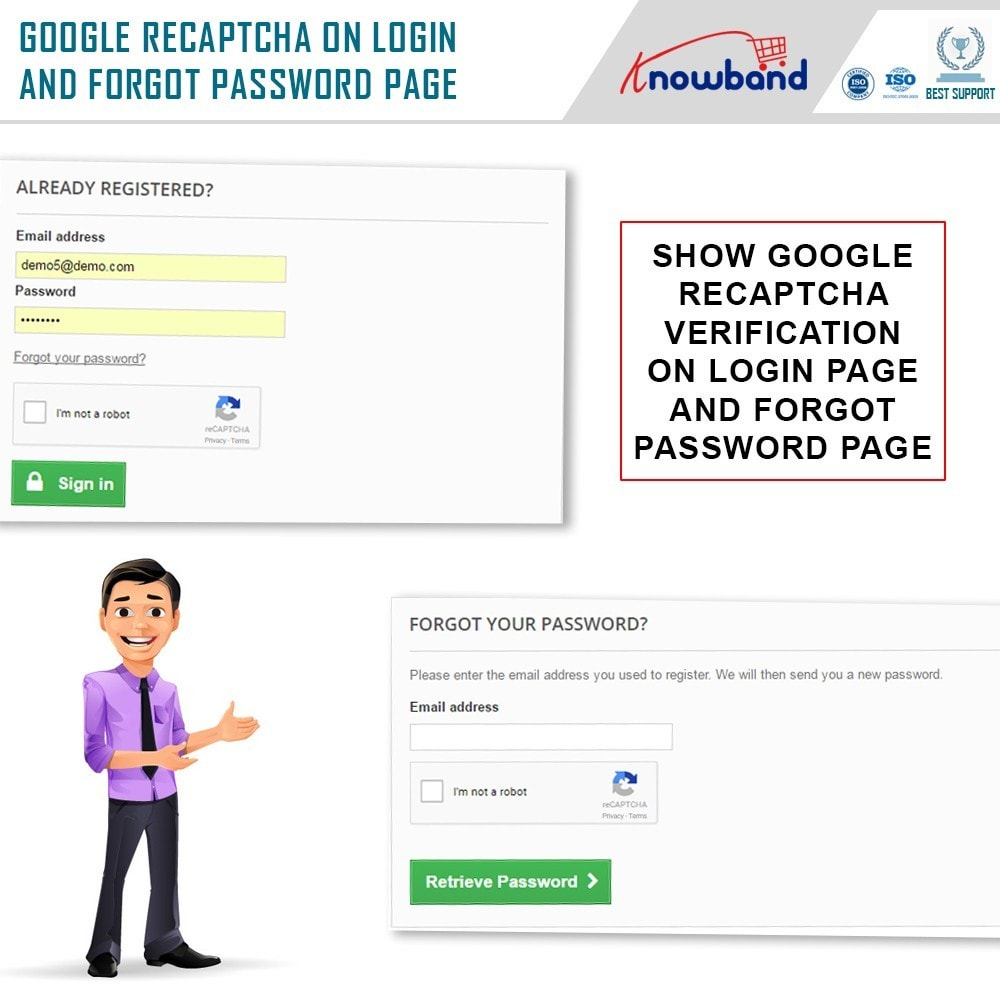 module - Security & Access - Google reCaptcha - 2