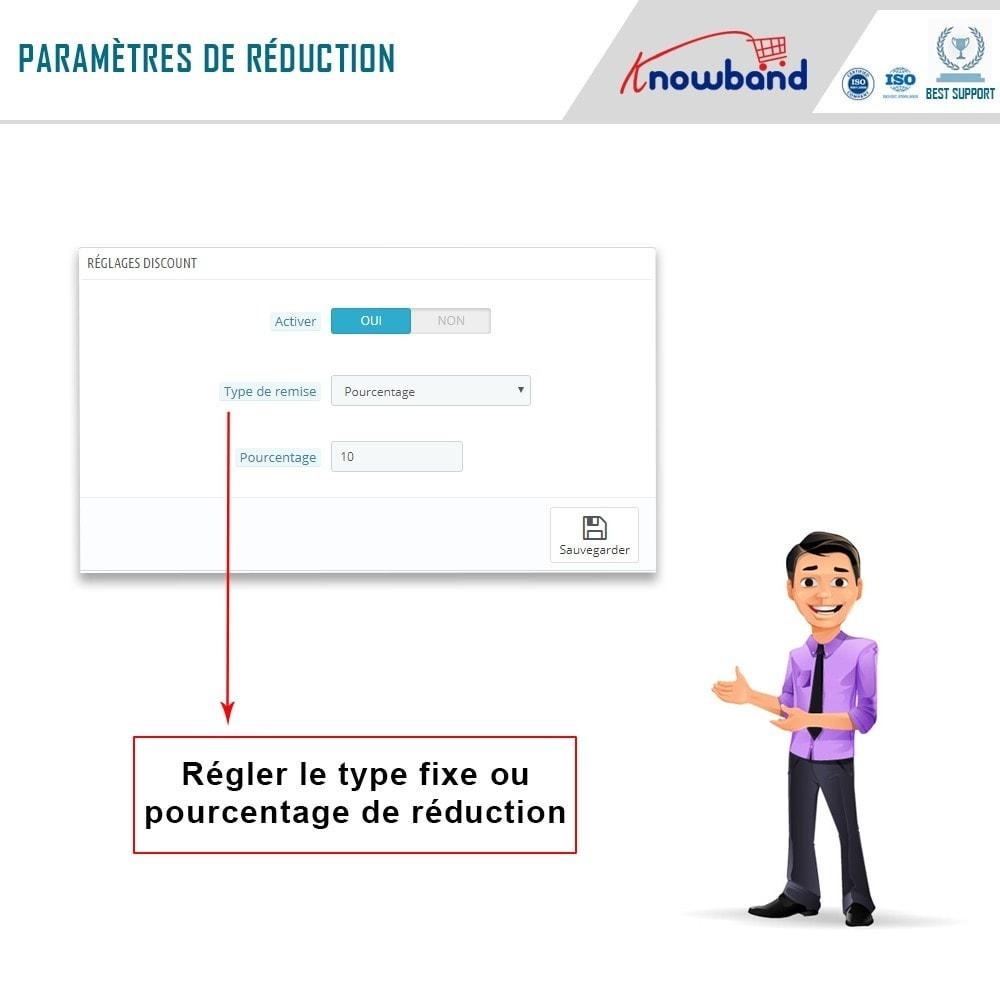 module - Inscription & Processus de commande - Knowband - Une Meilleure Page de Remerciement - 5
