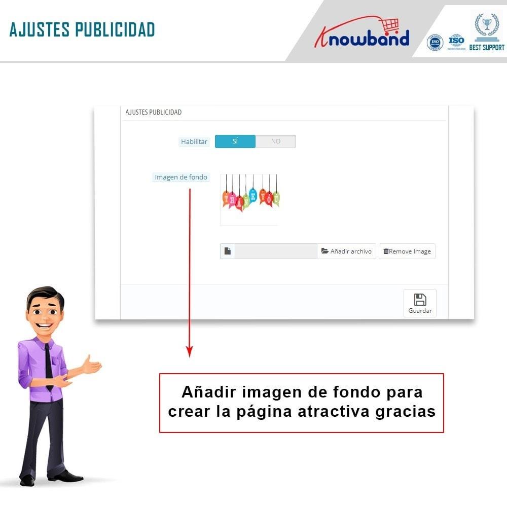 module - Inscripción y Proceso del pedido - Knowband - Página de Agradecimiento - 6