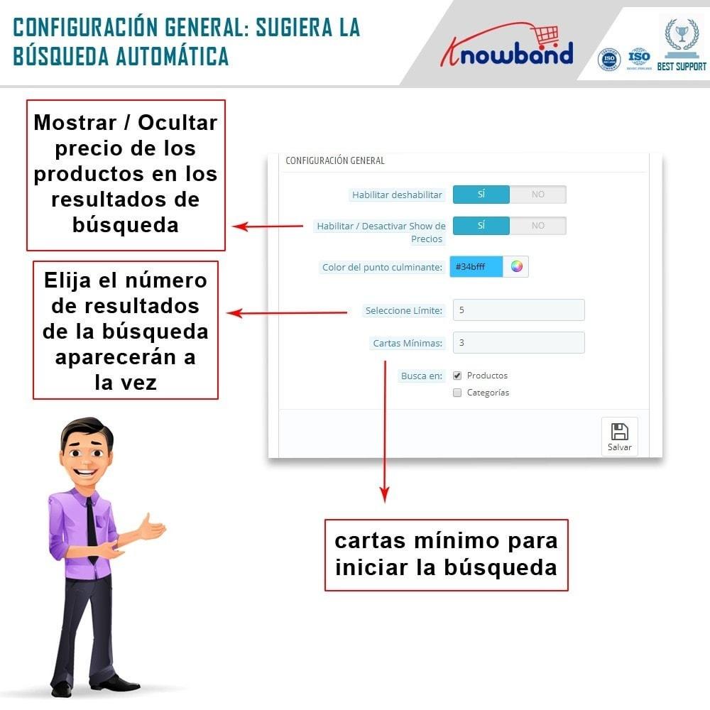 module - Búsquedas y Filtros - Knowband - Sugerencia de Búsqueda Automática - 3