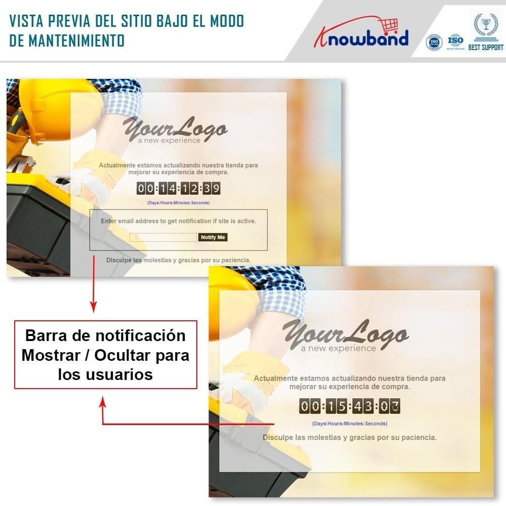module - Personalización de la página - Knowband - Personalizador de la Página de Mantenimiento - 2