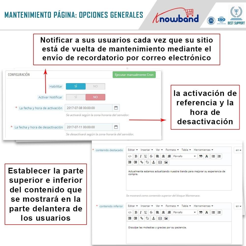 module - Personalización de la página - Knowband - Personalizador de la Página de Mantenimiento - 5
