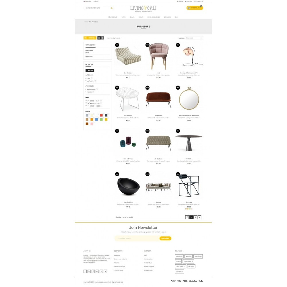 theme - Дом и сад - Furniture & Interior & Garden- smart responsive store - 4
