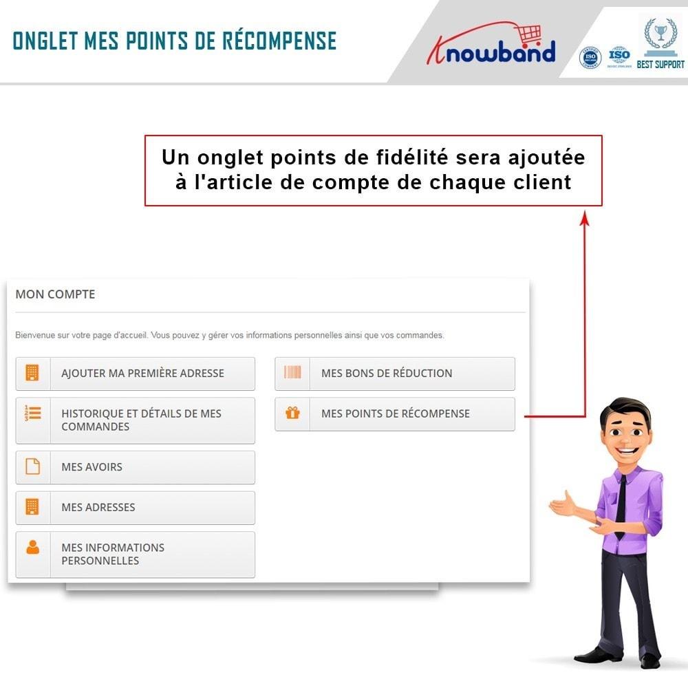 module - Fidélisation & Parrainage - Knowband - Points de Fidélité - 2