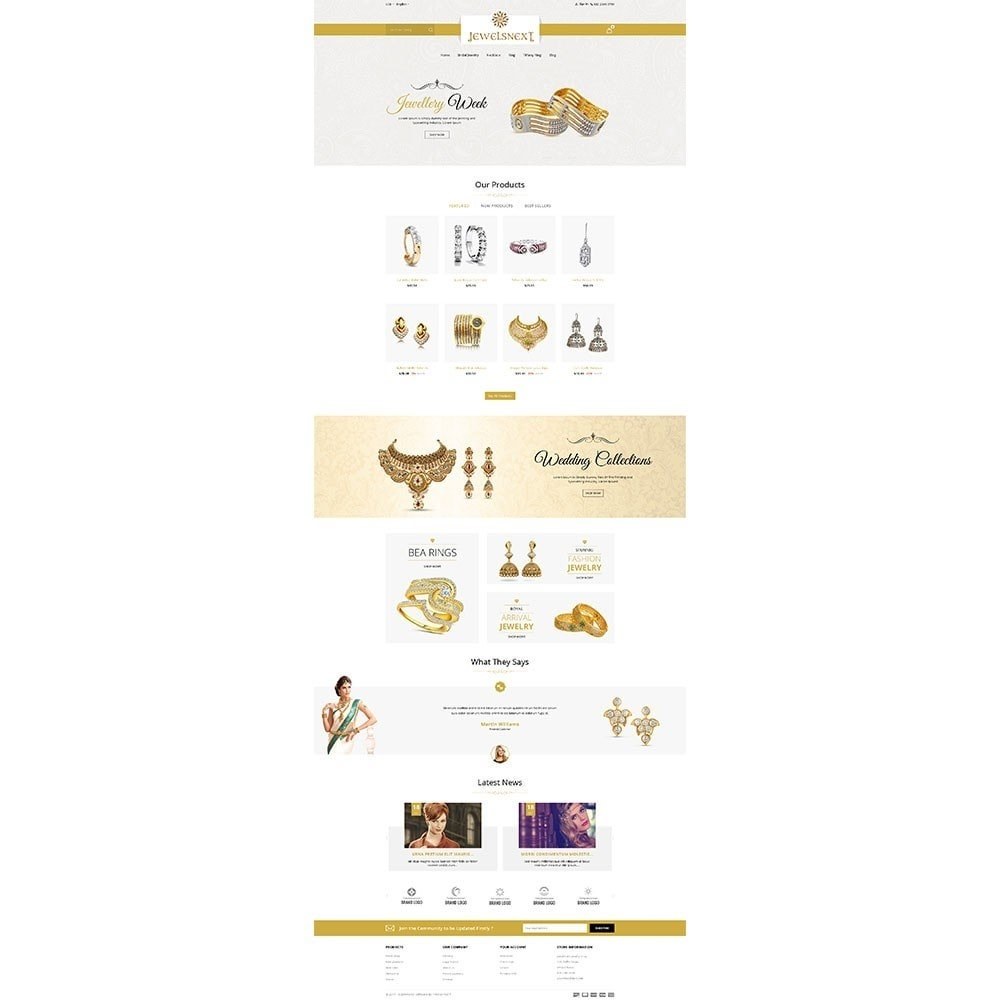 theme - Bellezza & Gioielli - Jewelsnext Jewelry Shop - 2